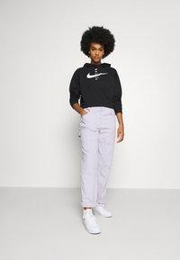 Nike Sportswear - HOODIE - Kapuzenpullover - black/white - 1