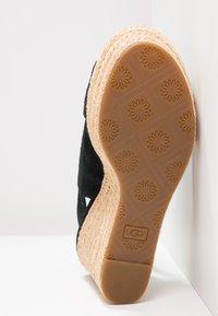 UGG - HARLOW - Sandalias de tacón - black - 6