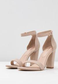 ALDO - JERAYCLYA - Sandaler med høye hæler - bone - 4
