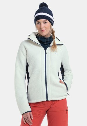 Fleece jacket -  weiß