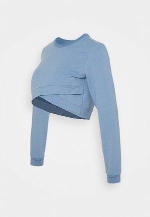 MLJOHANA CROPPED - Sweatshirt - allure/melange