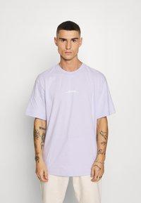 Topman - INSPIRE TEE - Print T-shirt - pink - 0