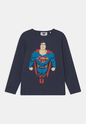 MARVEL SUPERMAN  - Long sleeved top - deep blue