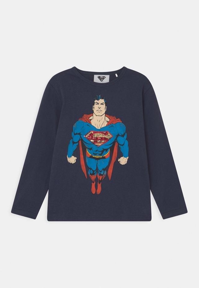MARVEL SUPERMAN  - Longsleeve - deep blue