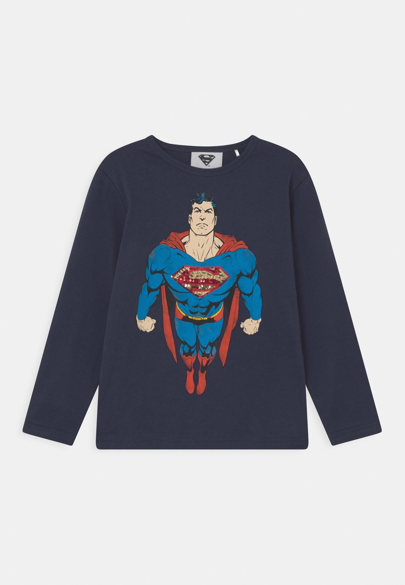 Staccato - MARVEL SUPERMAN  - Long sleeved top - deep blue