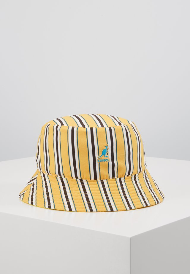 DOUBLE PATTERN BUCKET - Hat - sunset