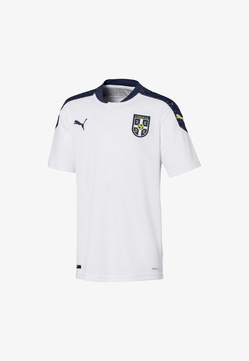 Puma - SERBIA KIDS' AWAY REPLICA  - Club wear - white-peacoat