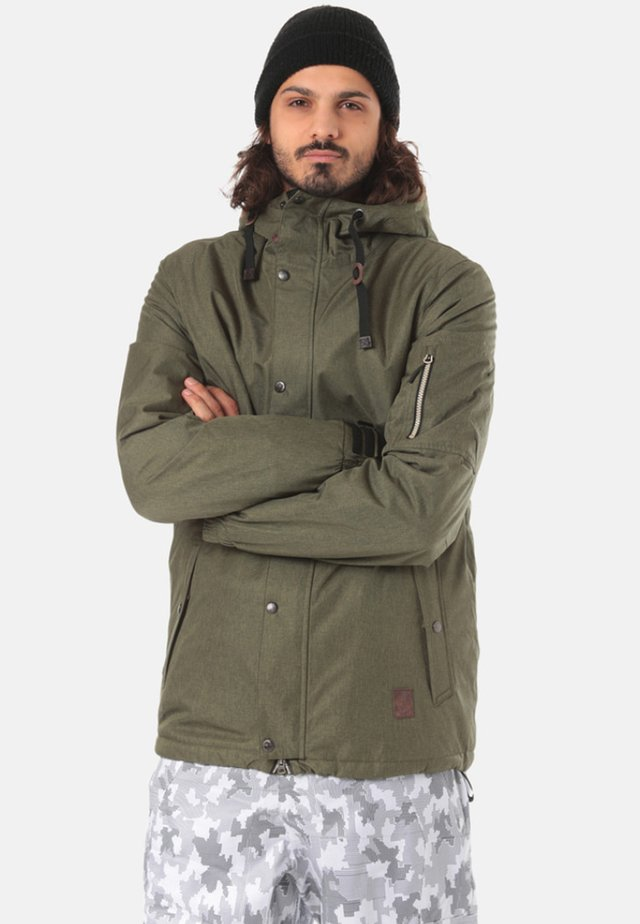 WINDER - Snowboard jacket - green