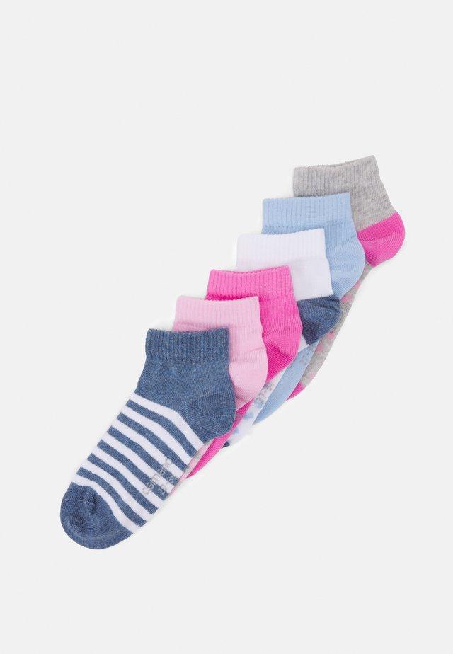 ONLINE CHILDREN ORGANIC QUARTER  6 PACK - Socks - ice blue