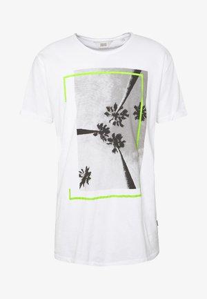 JAGGER - Print T-shirt - white