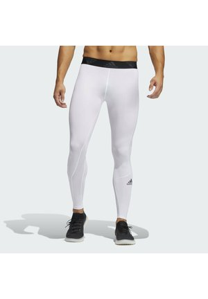 TURF LONG TIGHT PRIMEGREEN TECHFIT WORKOUT COMPRESSION LEGGINGS - Leggings - white