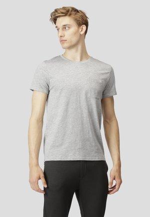 KOLDING - T-shirt - bas - light grey mel
