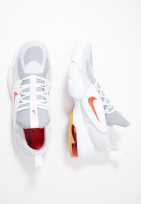 Nike Performance - AIR MAX ALPHA SAVAGE - Sports shoes - wolf grey/habanero red/pure platinum/white - 1