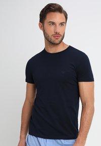Emporio Armani - CREW NECK 2 PACK  - Undershirt - navy blue - 1