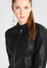 JDY - JDYDALLAS JACKET - Faux leather jacket - black - 4