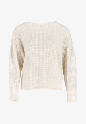 GIFUNA - Long sleeved top - beige