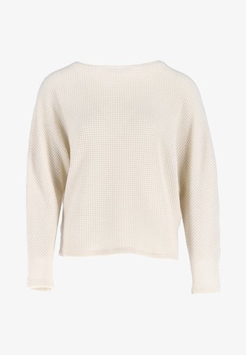 GIFUNA - Long sleeved top - beige