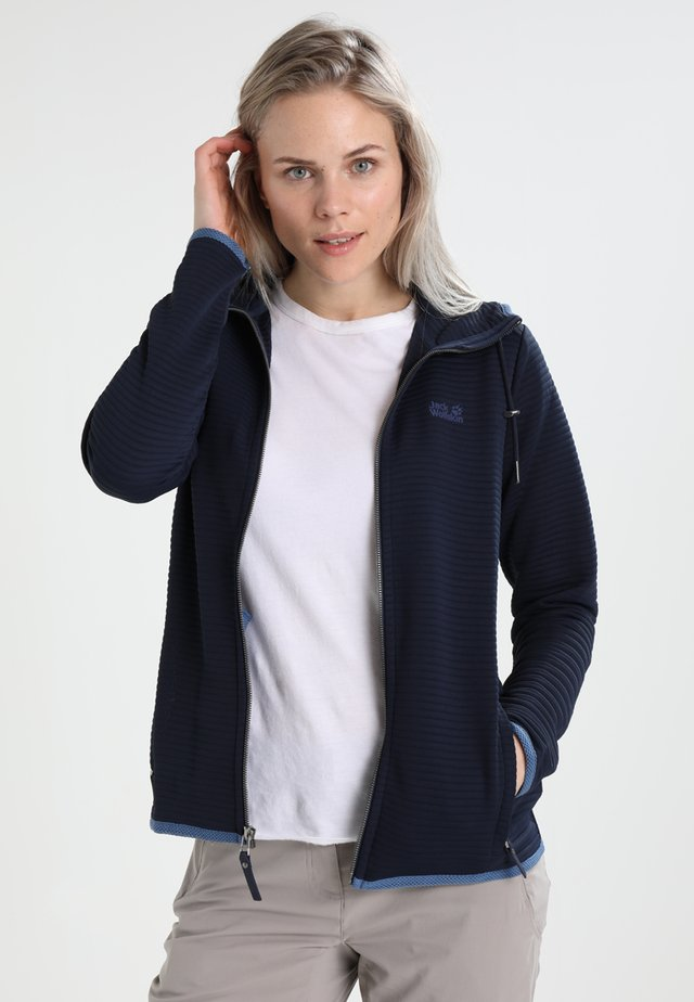 MODESTO  - Zip-up hoodie - midnight blue