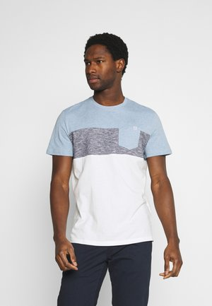 CUTLINE - T-shirt con stampa - yonder blue