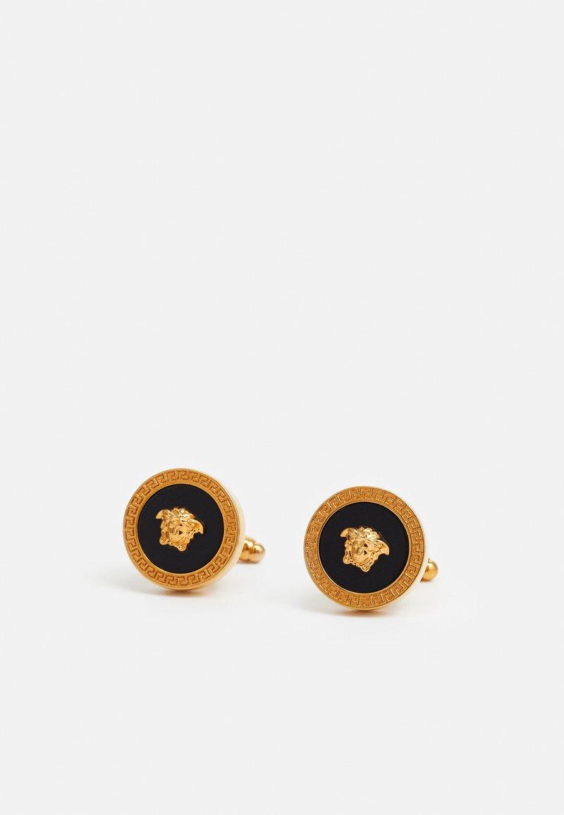 Versace - Cufflinks - nero/oro tribute