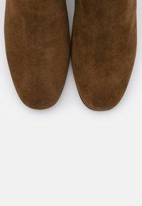 J.CREW - MINIMAL MCKAY - Classic ankle boots - rich walnut - 6