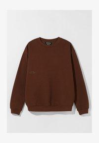 Bershka - OVERSIZED - Sweatshirt - brown - 4
