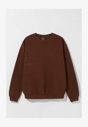 OVERSIZED - Bluza - brown