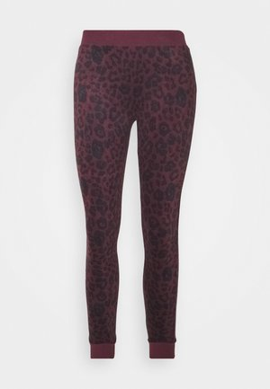 LEGGING LEOPARD - Pyjama bottoms - winetasting