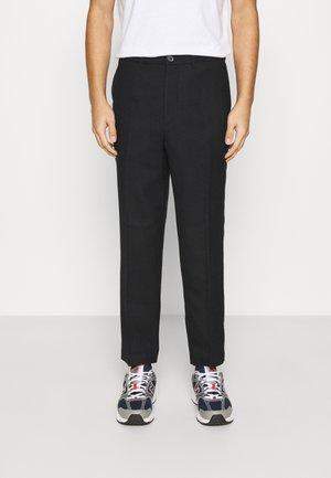 Chino kalhoty - black dark