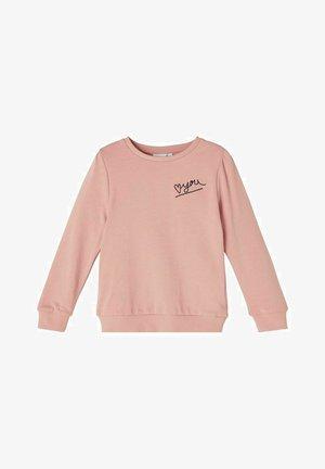 Sweatshirt - pale mauve