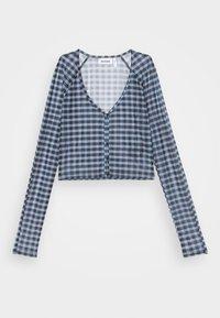 Weekday - NICOLE - Long sleeved top - blue - 4