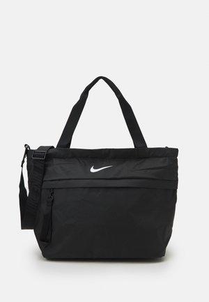 ESSENTIALS TOTE UNISEX - Shoppingväska - black/iron grey/white
