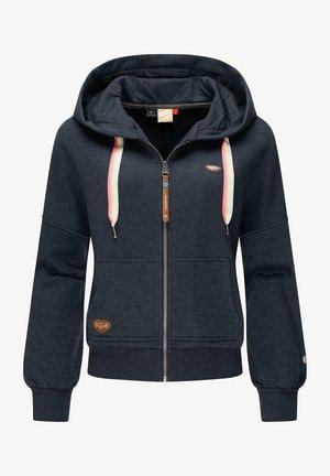 GOBBY ZIP INTL - Zip-up sweatshirt - navy
