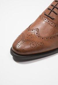 Zalando Essentials - Smart lace-ups - brown - 5