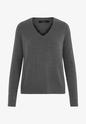 VMIVA  - Jumper - medium grey melange