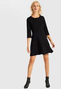 Esprit - Jumper dress - black - 1