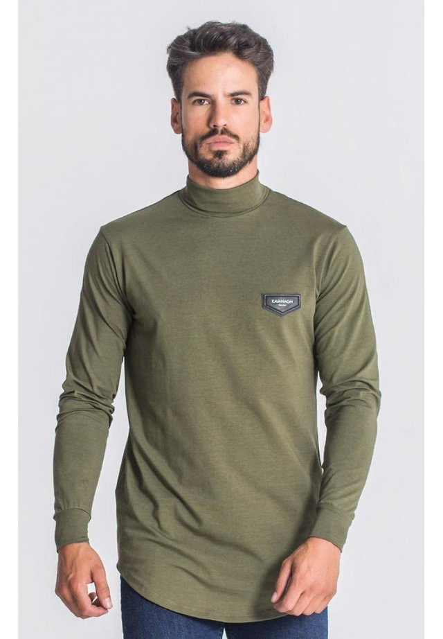 Sweatshirt - army green