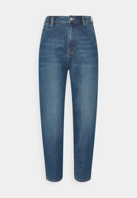 TOM TAILOR DENIM - BARREL MOM VINTAGE MIDDLE BLUE - Relaxed fit jeans - used mid stone blue - 5