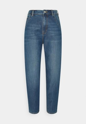 BARREL MOM VINTAGE MIDDLE BLUE - Jeans relaxed fit - used mid stone blue