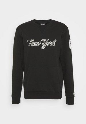 COOPERSTOWN YANKEES HERITAGE CREW NECK - Sweatshirt - black
