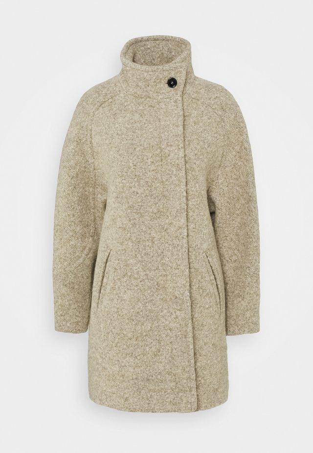 KANG - Klassischer Mantel - beige