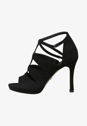 Sandaler med høye hæler - black