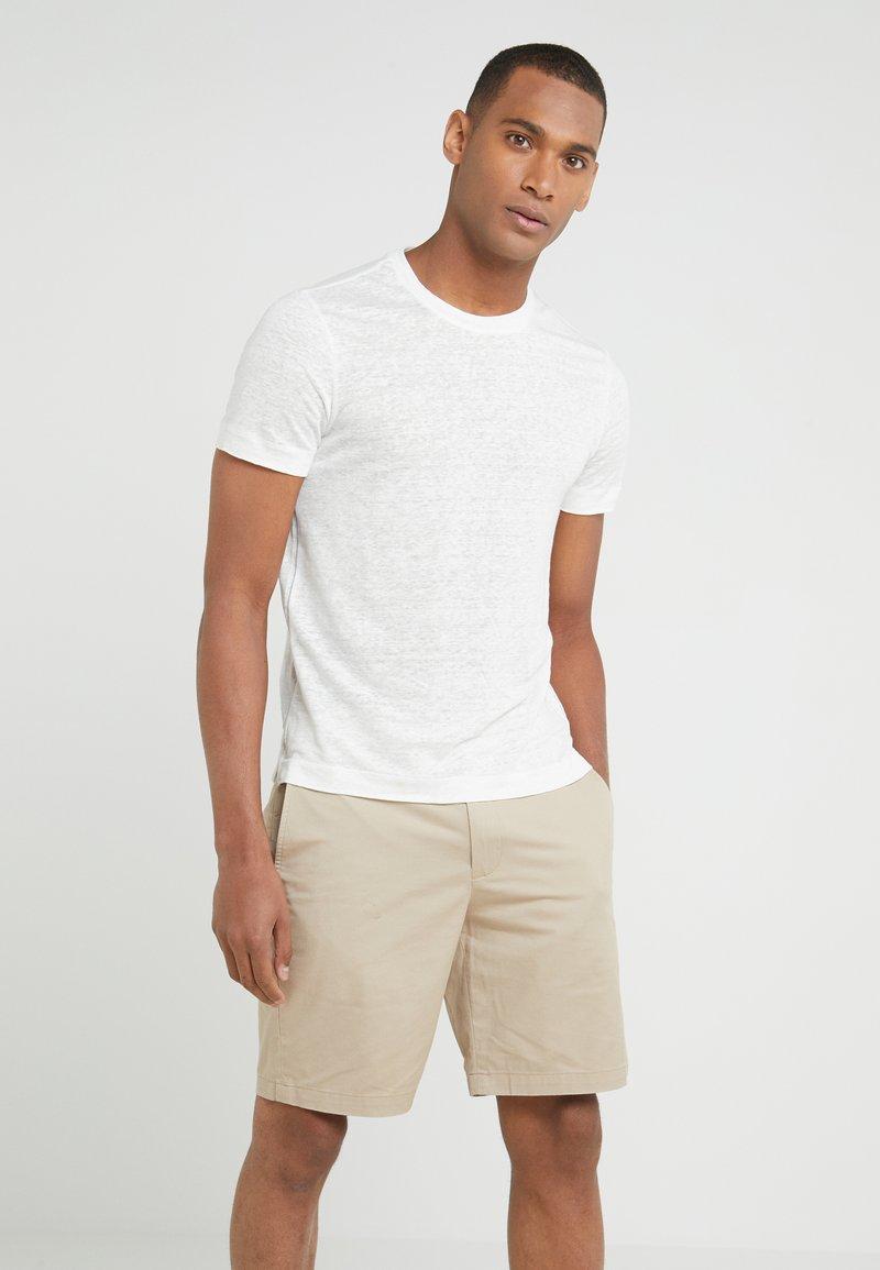 Club Monaco - CREW - Basic T-shirt - pearl