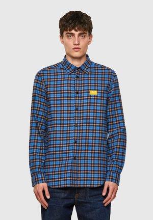 Overhemd - blue/yellow
