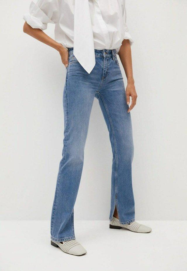 Jeans straight leg - middenblauw