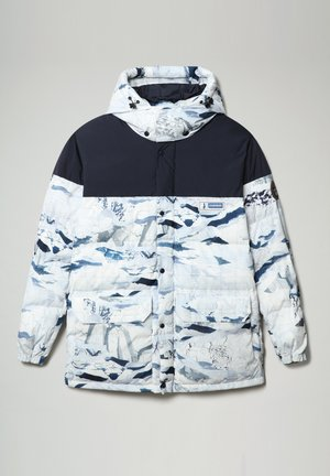 A-KAMPPI - Winter jacket - lblue camu f1p