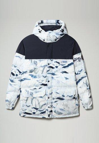 A-KAMPPI - Winter jacket - lblue camu f1p