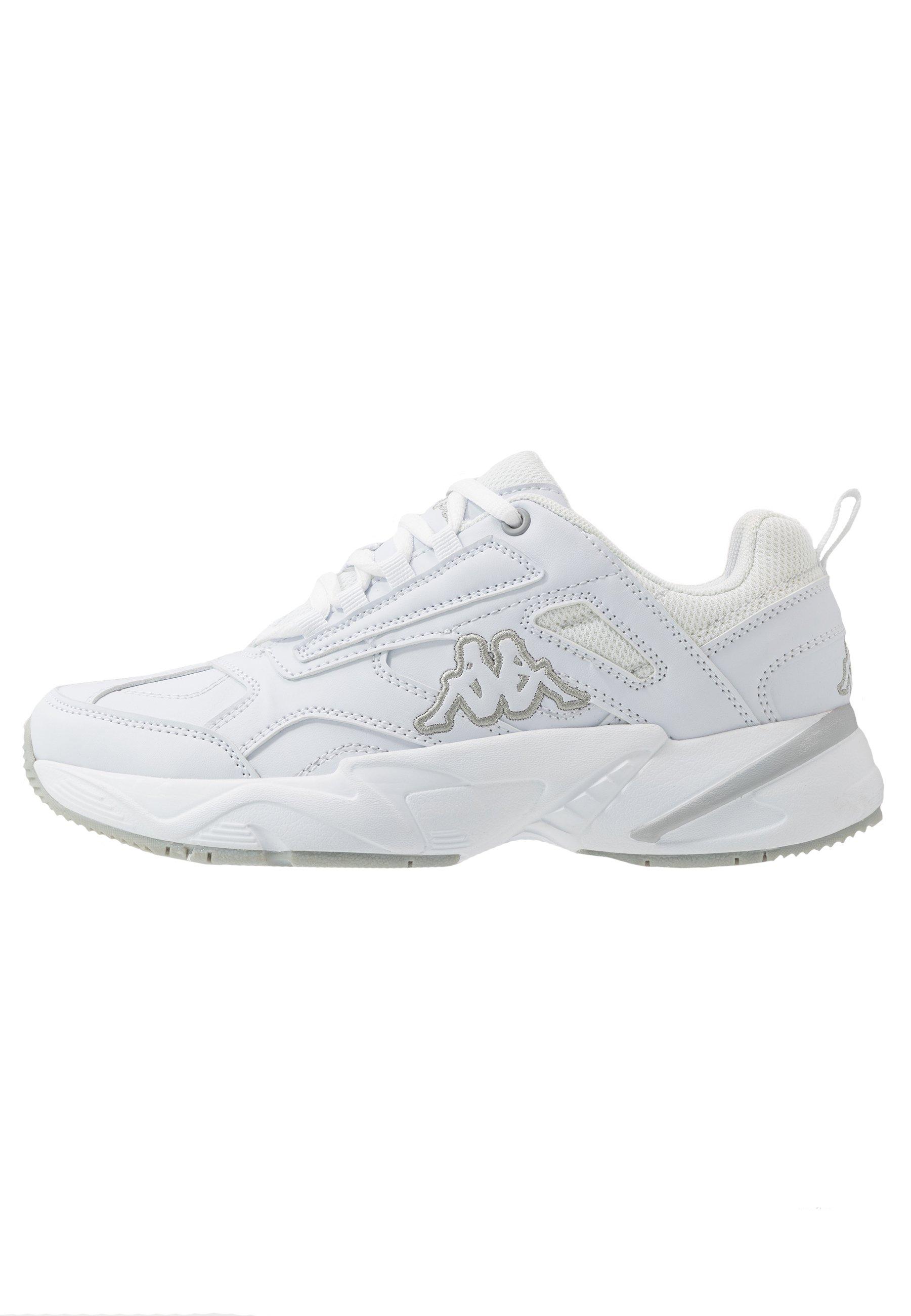 Kappa BASH Treningssko whitelight greyhvit Zalando.no