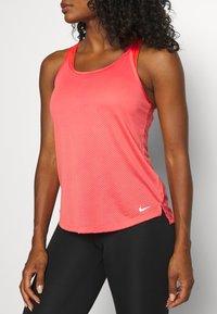 Nike Performance - ONE BREATHE TANK - Top - magic ember/white - 5