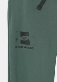 Under Armour - RIVAL UNISEX - Teplákové kalhoty - toddy green - 2